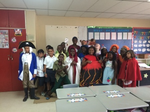 My class on Reading Day!