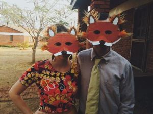 Mr. and Mrs. Fantastic Fox for Reading Day :)